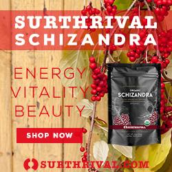 Schizandra 250 X 250 Wood/Berries Energy Vitality Beauty