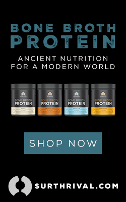 Bone Broth 250 X 400 Ancient Nutrition - Black